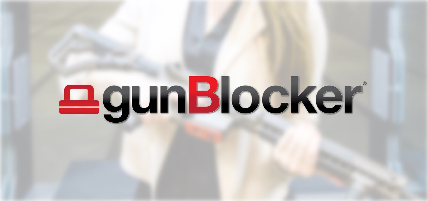 GunBlocker is a simple yet innovative firearm lock that cannot be removed easily like standard gun locks.
